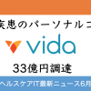 US版FiNC、Vida Healthが約33億円を調達!医療介護ヘルスケアIT時価総額ウォッチ【2019年6月版・後編】